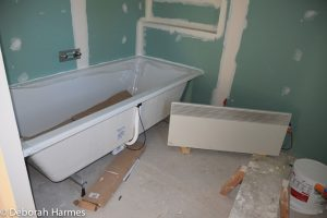 Master bath at the beginning